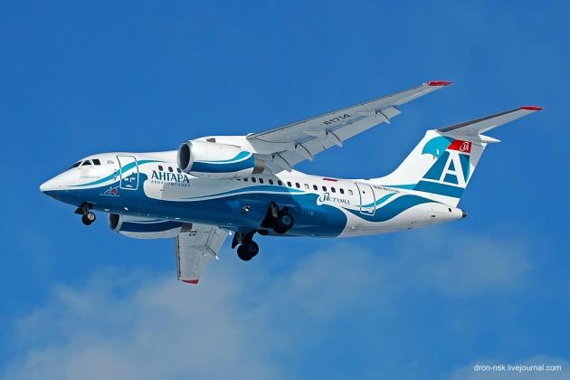 «Ангара» запускает авиарейсы изАлматы вКрасноярск иИркутск