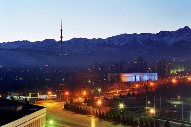 Почти 140 сооружений Алматы получат художественную подсветку