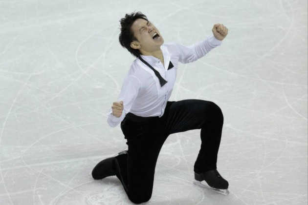 Денис Тен завоевал «серебро» на Чемпионате мира по фигурному катанию