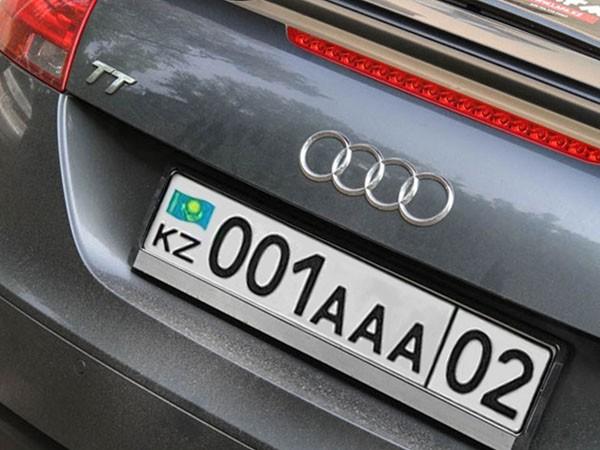Как зарегистрировать авто из казахстана