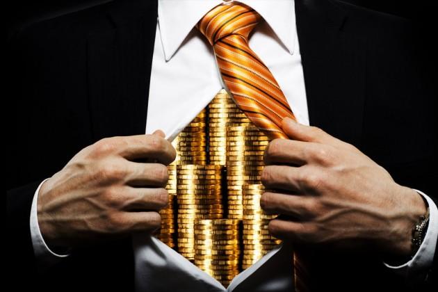 Половина мирового имущества находится вовладении 1% богачей