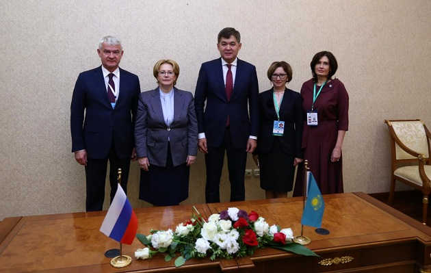Казахстан иРоссия будут сотрудничать всфере телемедицины