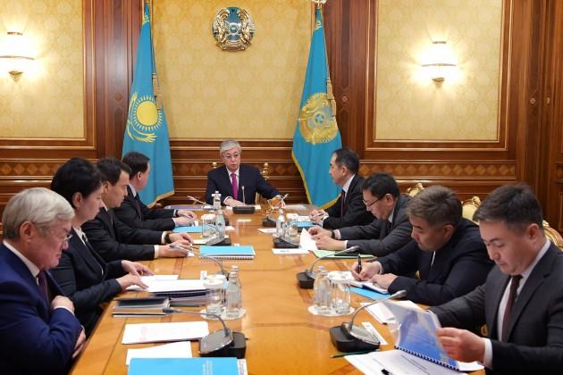 Президент провел совещание по вопросам социальной защиты населения