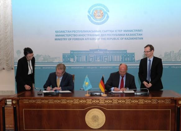 Казахстан и Германия готовы к расширению сотрудничества