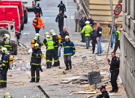Исторический центр Праги под угрозой нового взрыва