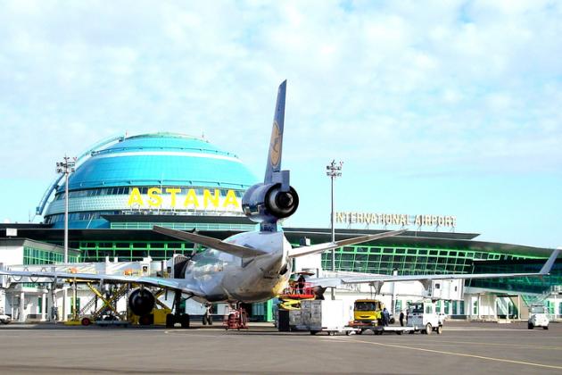 Возле аэропорта Астаны парковка будет платной