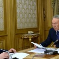 Назарбаев заслушал отчет Мурата Оспанова