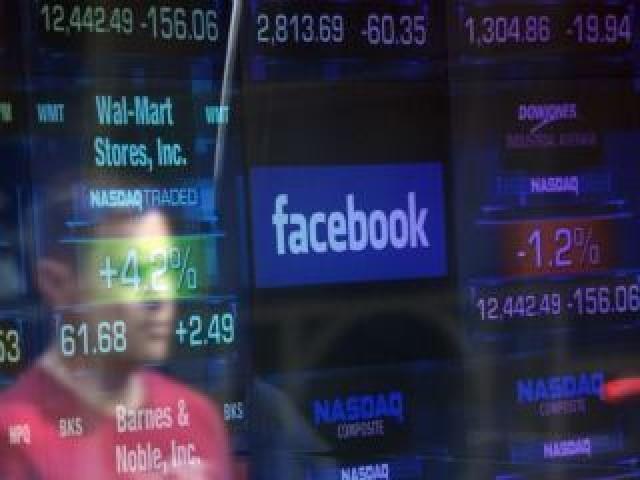 Facebook лидирует по популярности акций  в 2018 году