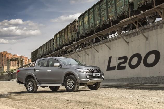 Mitsubishi L200— влидерах, ноне унас