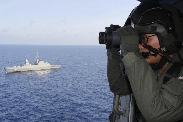 Пропавший Boeing упал в Индийский океан