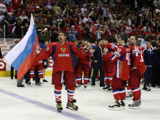 Российские хоккеисты, переиграв Словакию, прошли в плей-офф