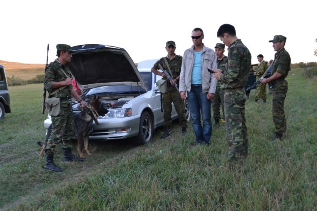 Пограничники задержали 1,5 тонны контрабанды