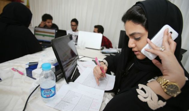 Саудовские женщины впервые принимают участие в выборах