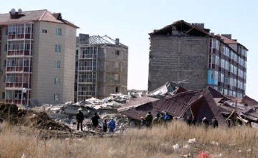 В Караганде нарастает скандал вокруг рухнувшего дома