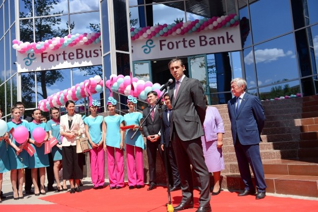 ForteBank открыл филиал нового поколения вАктобе