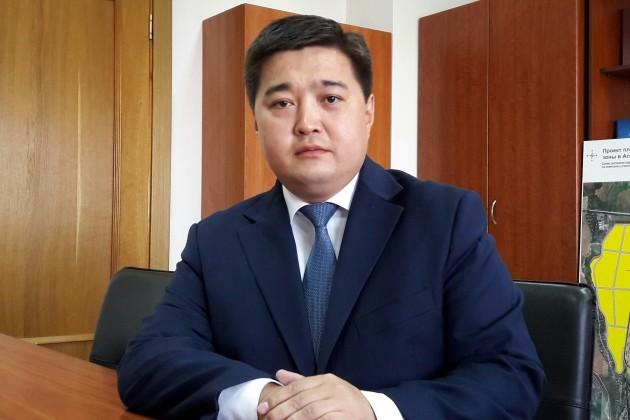 В руководстве госструктуры Алматы изменение