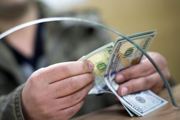 Продажи доллара в обменниках за месяц выросли до $1,7 млрд