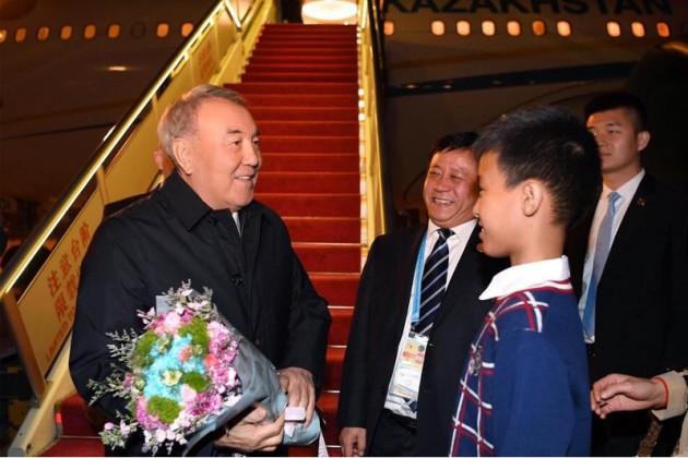 Нурсултан Назарбаев прибыл в Пекин