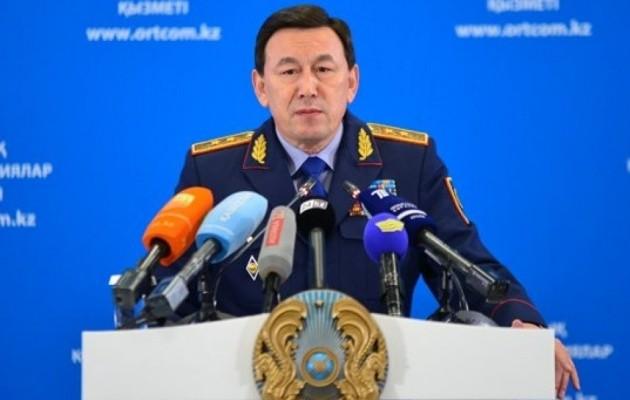 Калмуханбет Касымов рассказал о проблемах местной полицейской службы