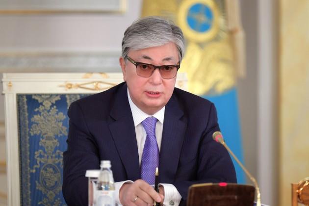 Касым-Жомарт Токаев продолжает получать телеграммы и поздравления
