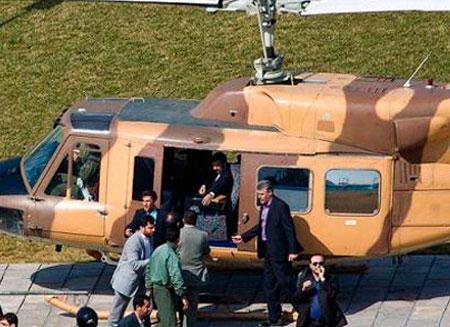 Вертолет президента Ирана приземлился из-за неполадок