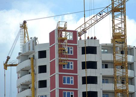 Строительство жилых домов подорожало на 4,5%