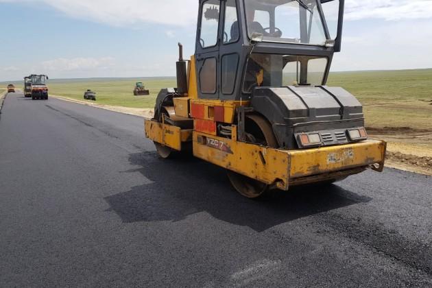 Ремонт автодороги Жайрем - Каражал - Атасу вскоре завершится