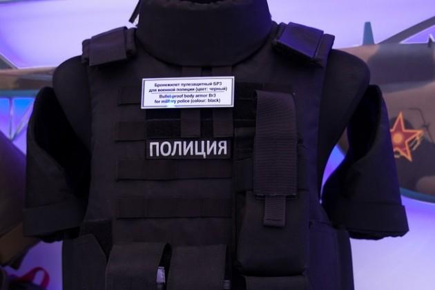 Казахстанские бронежилеты, шлемы ищиты представят наKADEX