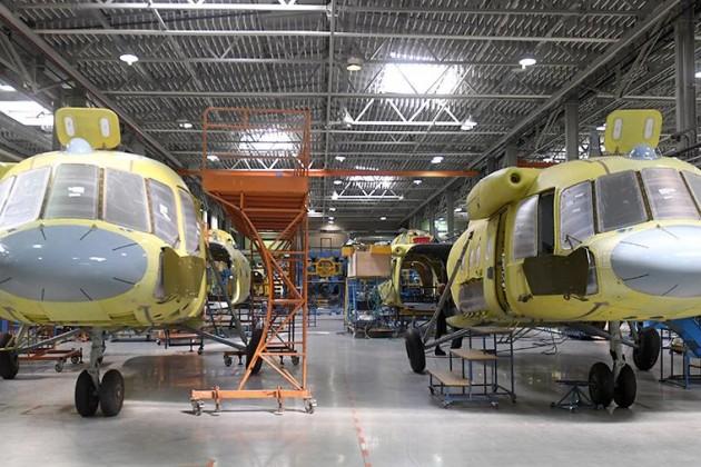 Казахстан и Россия договорились о начале сборки вертолетов Ми
