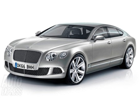 «Четырёхдверное» купе от… Bentley!