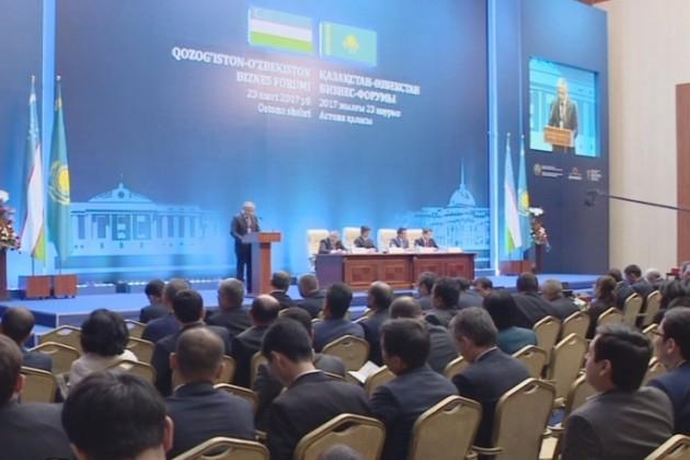 Казахстан иУзбекистан смогут загод нарастить товарооборот до $5млрд.