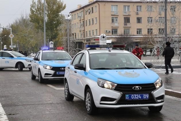 Полицейские испасатели Карагандинской области получили новую технику