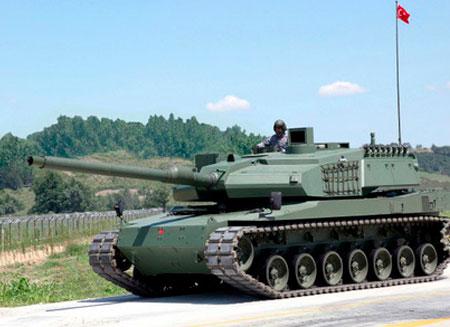 Турция завершила тестирование отечественного танка