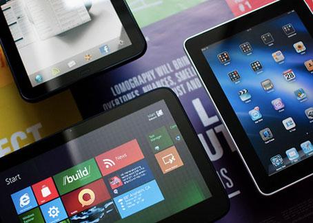 В 2013 году планшетов продадут больше чем ноутбуков