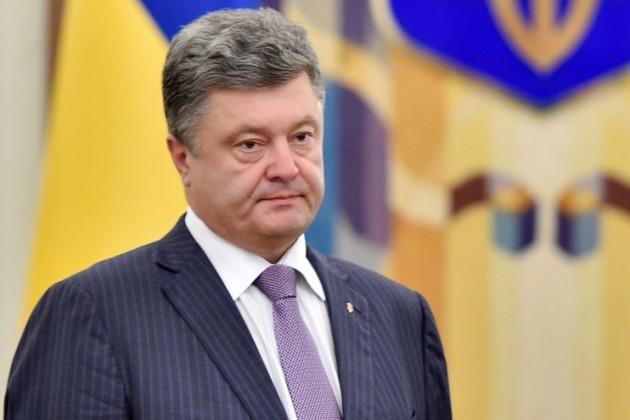 Петр Порошенко ввел наУкраине военное положение