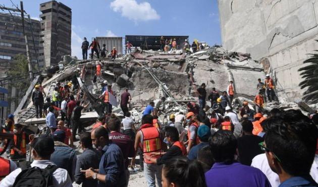 Жертвами землетрясения вМексике стали свыше 200человек