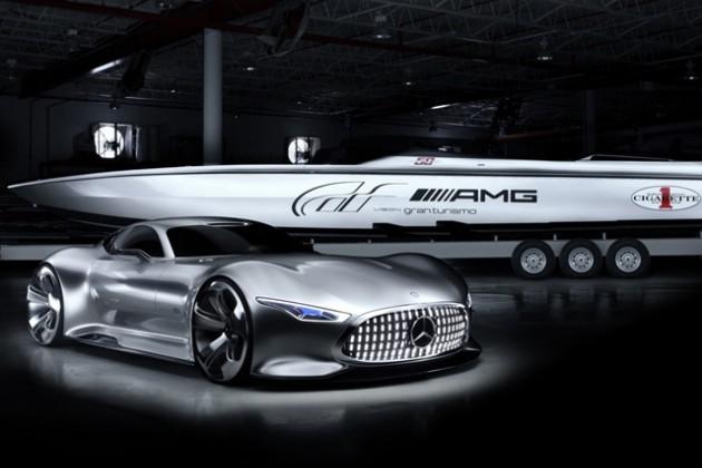 Совместный показ Mercedes-AMG и Cigarette Racing