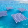 Крупнейшая в Европе плавучая солнечная электростанция дала первый ток
