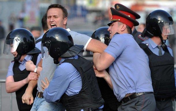 Навальный перенес антикоррупционный митинг наТверскую улицу