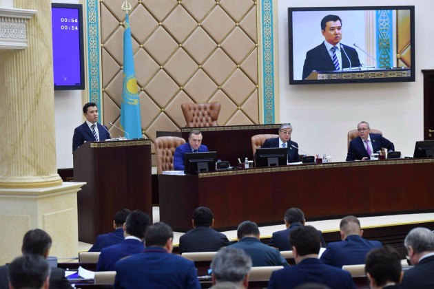 Парламент принял поправки вреспубликанский бюджет на2017−2019годы