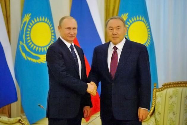 Нурсултан Назарбаев иВладимир Путин обсудили график предстоящих встреч