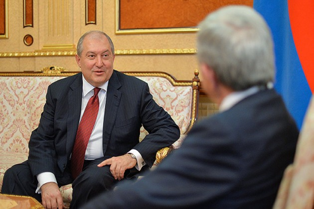 Армен Саркисян избран президентом Армении