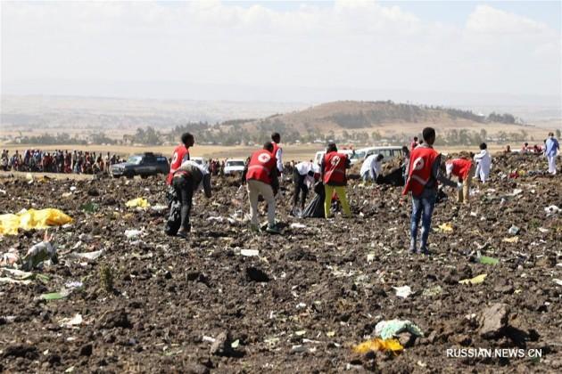 Пассажирский лайнер разбился по пути из Эфиопии в Кению