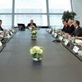 Президент посетил свободную финансовую зону Abu Dhabi Global Market