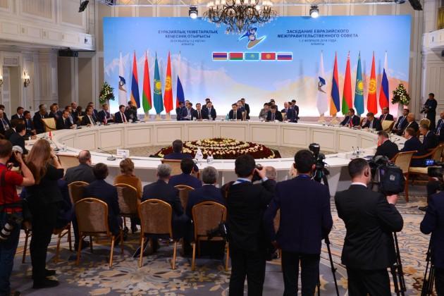 Поитогам Евразийского межправсовета приняты 14документов