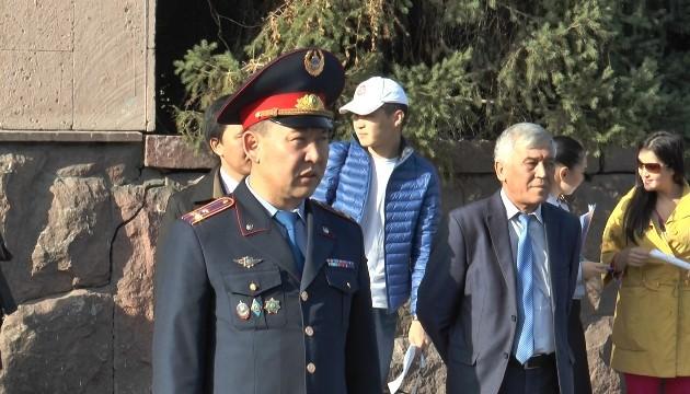 Полицейские Алматы провели приемную на дороге