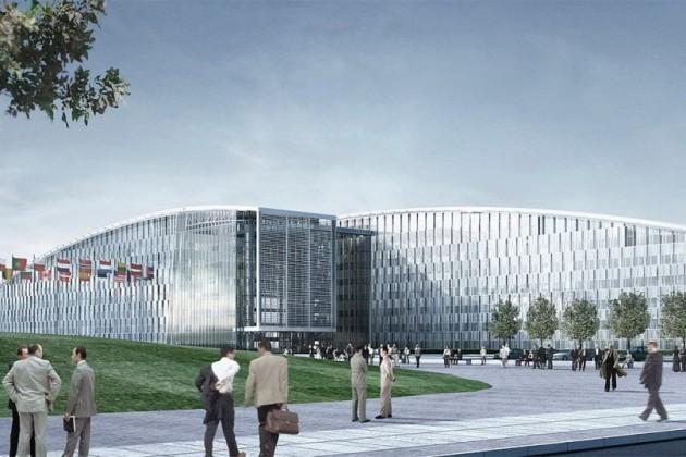 НАТО переезжает вновую штаб-квартиру за1,2млрдевро