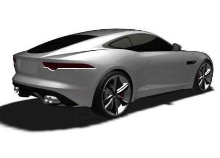 Jaguar F-Type Coupe: Дебют в 2014 году