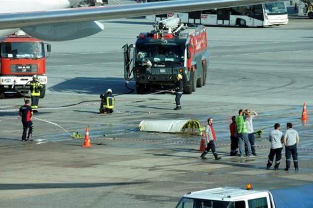 ВТурции столкнулись два пассажирских самолета