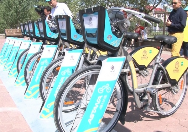 В сентябре запустят систему велопроката Almaty Bike